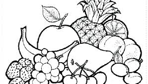 Fruits Coloring Pages Vegetables To Color Printable Coloring Pages