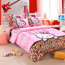 home textile bedding sets duvet cover set cartoon style bedsheet soft for kids