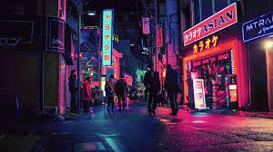 Tokyo Night Wallpaper 4k