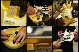 fender experts bolt neck on bolt body yngwie malmsteen s duck strat was converted from 3 bolt to 4 bolt fender even recreated it on its yngwie tribute duck strat