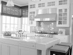 Contemporary Kitchen Backsplash Designs Bathroom Backsplash Ideas With White Cabinets Craftsman Kitchen