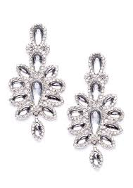 exclusive royal ambition statement earrings in silver