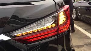 Lexus Signal Light Lexus Rx 2016 Turn Lights