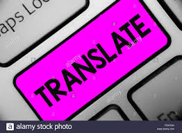 Another Word For Violet Word Writing Text Translate Business Concept For Another Word With