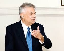 Image result for images of pm ranil wickramasinghe