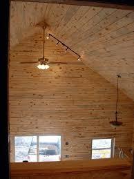 delightful vaulted ceiling track lighting