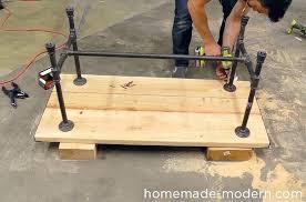 iron pipe furniture. Pipe Iron Furniture