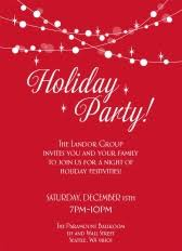 Shop Christmas Party Invitations By Cardsdirect