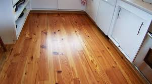 rustic number 1 heart pine kitchen floor