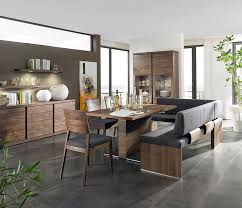 Dining Room Sets With Bench Seating With Scandinavian Table Bench Seating For Dining Room Tables
