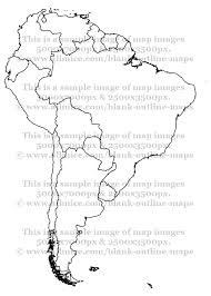 Political Maps Of South America