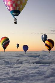 If someone wanted to take me on a hot air balloon ride I wouldn't argue