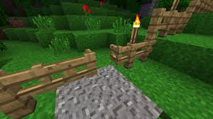 stone fence gate minecraft. Fence Gate Open Stone Minecraft O