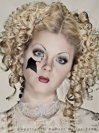 broken doll makeup tutorial 2016 creepy doll makeup tips of awesome in party