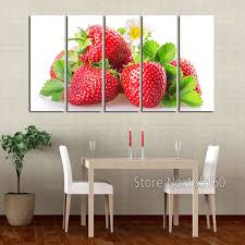 kitchen wall art sets modern home painting kitchen wall decor red strawberry