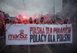 Bildergebnis für Zdjecie narodowców z hasłem pOLSK DLA pOLAKÓW