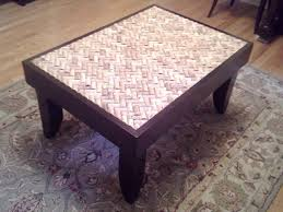living room brilliant man builds gorgeous diy coffee table using wine corks cork end ideas mid