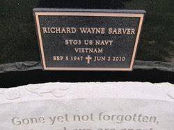 """Richard W. """"Rick"""" Sarver (1947-2010) - Find A Grave Memorial"""