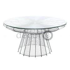 wire coffee table round side aldi