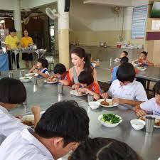 สวยแถมยงใจบญ สม ชนดดา แอวเหนอทำบญโรงเรยนสอนคนตาบอด
