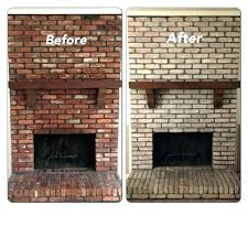 painted brick wall fireplace painted brick fireplace before and after how to paint fireplace brick painted