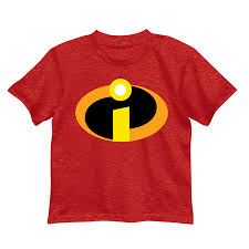 Disney Little Boys' the Incredibles Logo Costume T-Shirt - Walmart.com