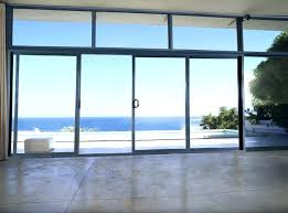 large sliding glass doors patio coverings how much do cost for pa