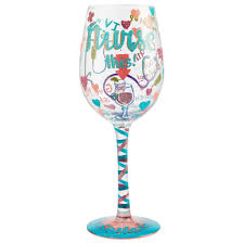 Lolita Nurse This Handpainted Wine Glass, 15 oz. - Wine Glasses & Wine  Tumblers - Hallmark