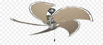 ceiling fans textile brushed metal nautical theme