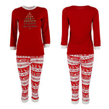 Family Matching Christmas Pajamas Set Women Mens Baby Kids ...