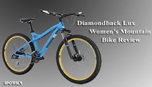 Diamondback Lux Womens Mountain Bike Review Sportsly