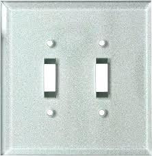 light switch decorative glass silver light switch covers light switch plate covers covers in light switch
