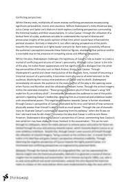 julius caesar essay year hsc english advanced thinkswap julius caesar essay