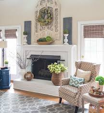what to hang over fireplace mantel brilliant picture 9 of 11 throughout 7