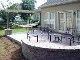 modren cost new paver patio cost and seating wall 93 diy 2ftmt me pertaining to ideas 0