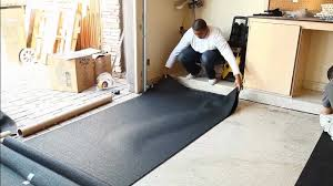 Working With Securing Stall Mats In A Garage Gym Garage Floor Mats