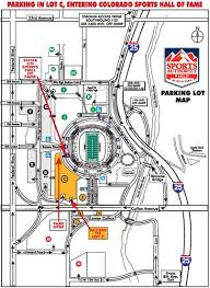 Sports Authority Field Mile High Stadium Seating Chart Directions Colorado Sports Hall Of Fame