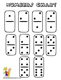 Dominos Chart Free Dominoes Number Chart To Print Out Dominos Number