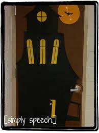 Good Looking Idea For Halloween Door Decoration Idea : Fascinating Image Of  Accessories For Door Decoration