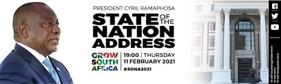 Will he bare the government's recovery plan as the philippines is facing a health crisis and economic instability? State Of The Nation Address 2021 South African Government