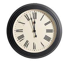 ine oversized wall clocks