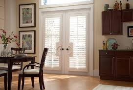 view in gallery french doors plantation shutters
