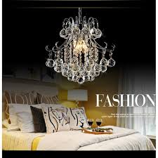 4 light modern chandelier ceiling k9 crystal pendant lamp