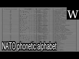 The phonetic alphabet is used widely in military communications. Wn Joint Army Navy Phonetic Alphabet