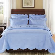 Sage Garden Luxury Pure Cotton Light Blue Quilt from Calla Angel ... & Sage Garden Luxury Pure Cotton Light Blue Quilt from Calla Angel Adamdwight.com