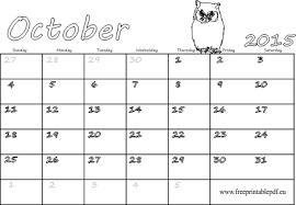 blank calendar 2015 october 2015 blank calendar free printable pdf