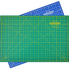 Cheap Blue Cutting Mat, find Blue Cutting Mat deals on line at ... & Get Quotations · Quilting Bee 12 x18 2-in-1 (Green/Blue) Self- Adamdwight.com
