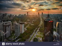 Shenzhen Shennan Avenue West Architecture and Road Stock Photo - Alamy