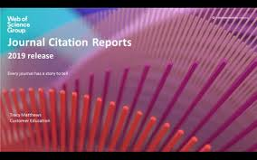 Journal Citation Reports 2019 Update Webinar