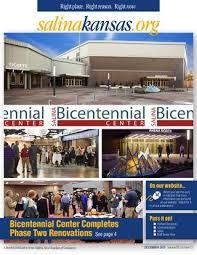 Salina Bicentennial Center Seating Chart Salina Chamber Newsletter December 2015 By Salina Area